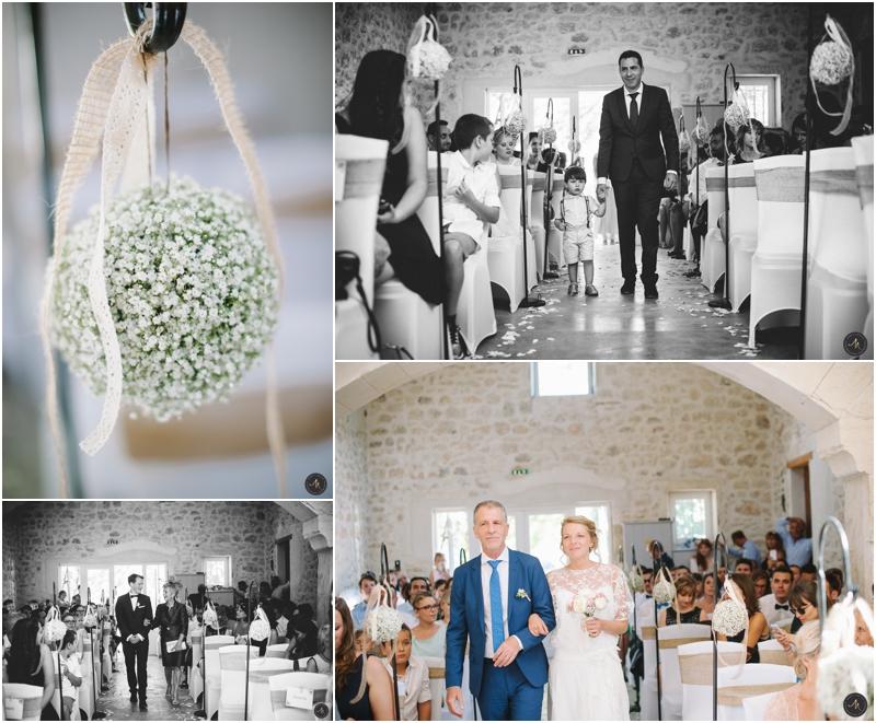 Reportage photo mariage Domaine du Trusquin
