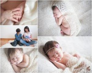 Photo de Sasha nouveau né de 6 jours - Myria Creation