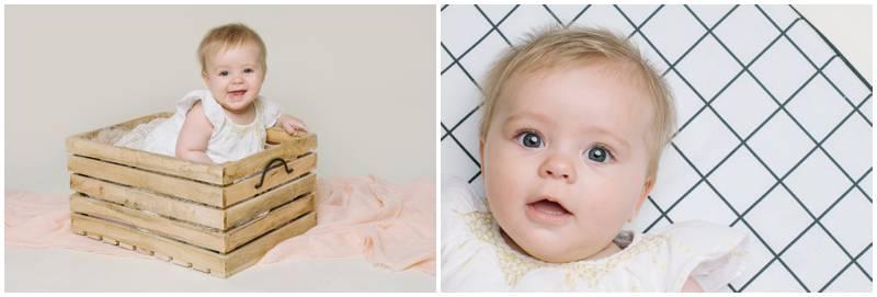 Photographe bébé en studio - Séance famille - Nancy Touranche Photographe